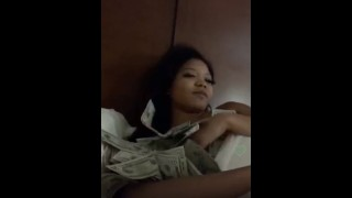 NAKED ASIAN TEEN COVERD IN MONEY ON PERISCOPE